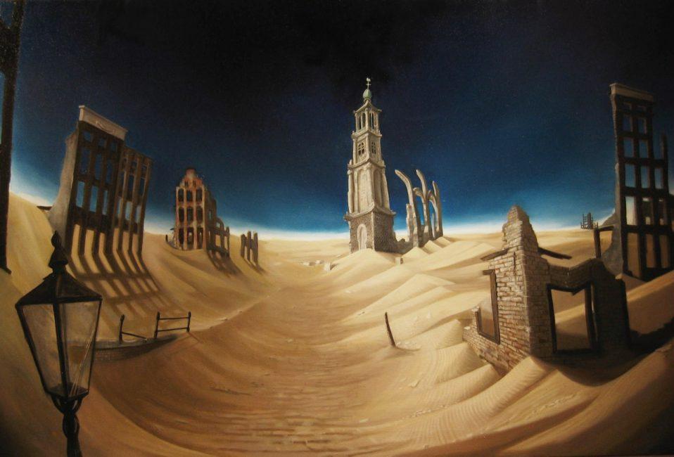Amsterdam desert