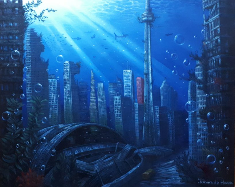 Toronto under water